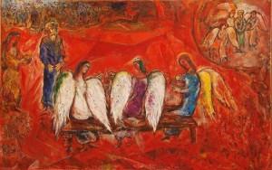 Chagall Holy Trinity